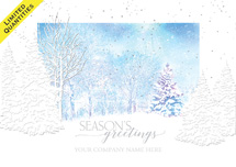 Winter Night's Dream Holiday Cards